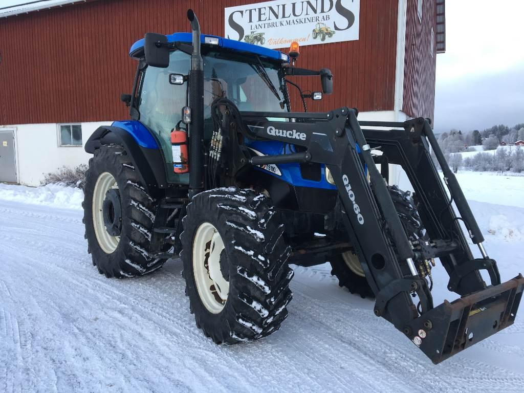 New Holland TS 110 A, Traktorer, Lantbruk