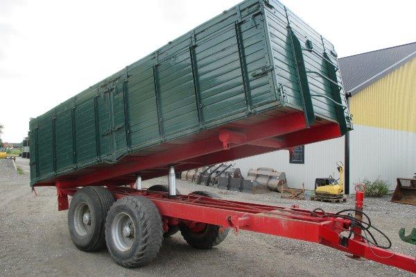 [Other] Håkantorp 14 tons boggievagn, Spannmålsvagnar, Lantbruk