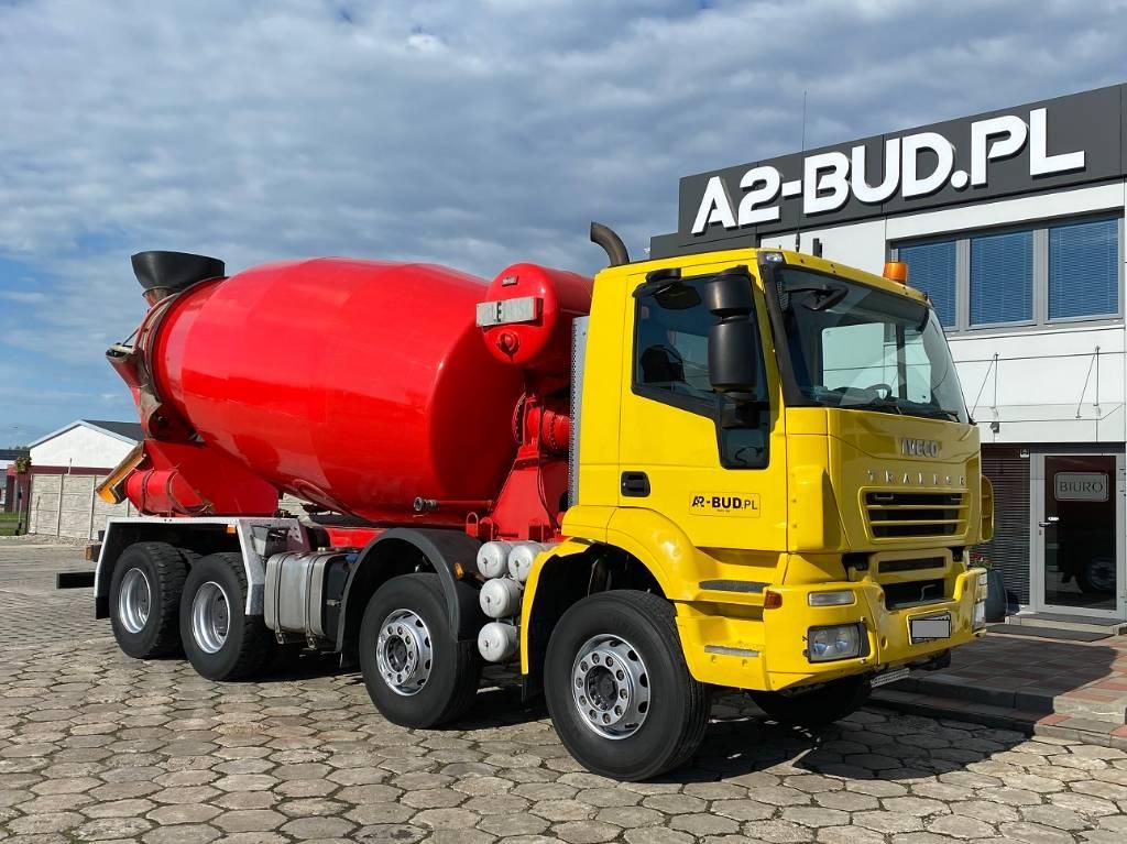 Iveco Trakker 410, Gruszki do betonu, Transport