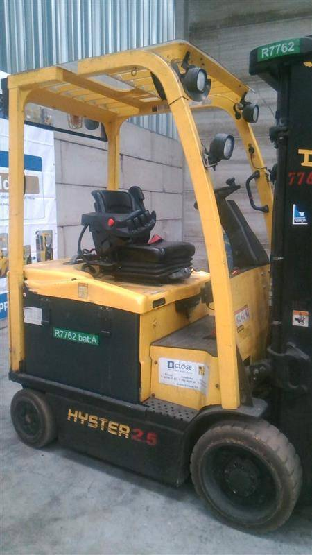 Hyster E 2.5 XN, Electric counterbalance Forklifts, Material Handling