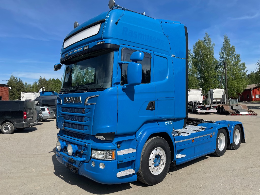 Scania R580 6x4 ADR FL Topline ajettu 614tkm, Vetopöytäautot, Kuljetuskalusto