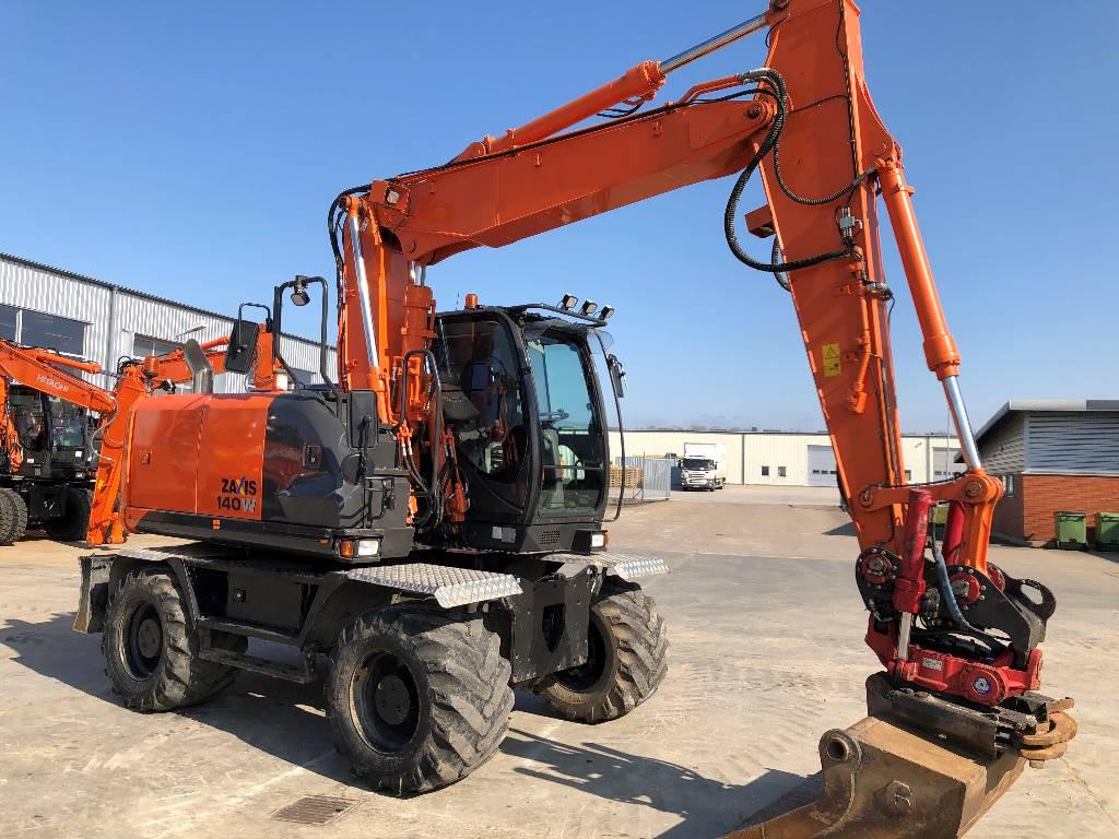 Hitachi ZX140W-5  Eslöv, Wheeled Excavators, Construction Equipment