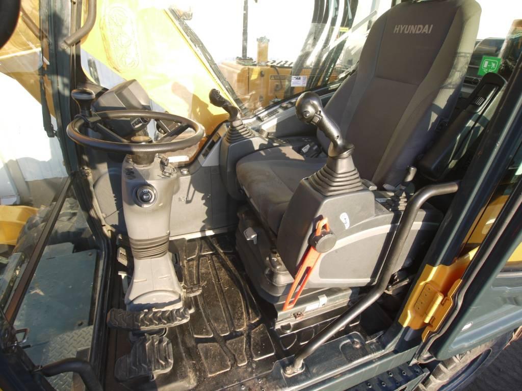 Hyundai R 160 W-9A / rototilt pihdeillä, kahva-ajo OULU, Pyöräkaivukoneet, Maarakennus