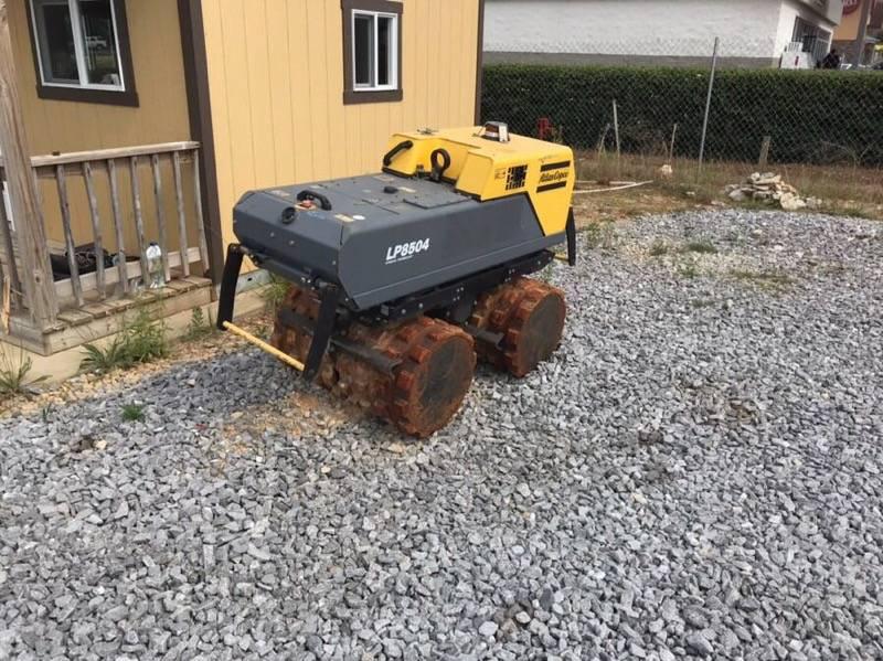 Atlas Copco LP 8504 Trench Roller, Soil Compactors, Construction Equipment