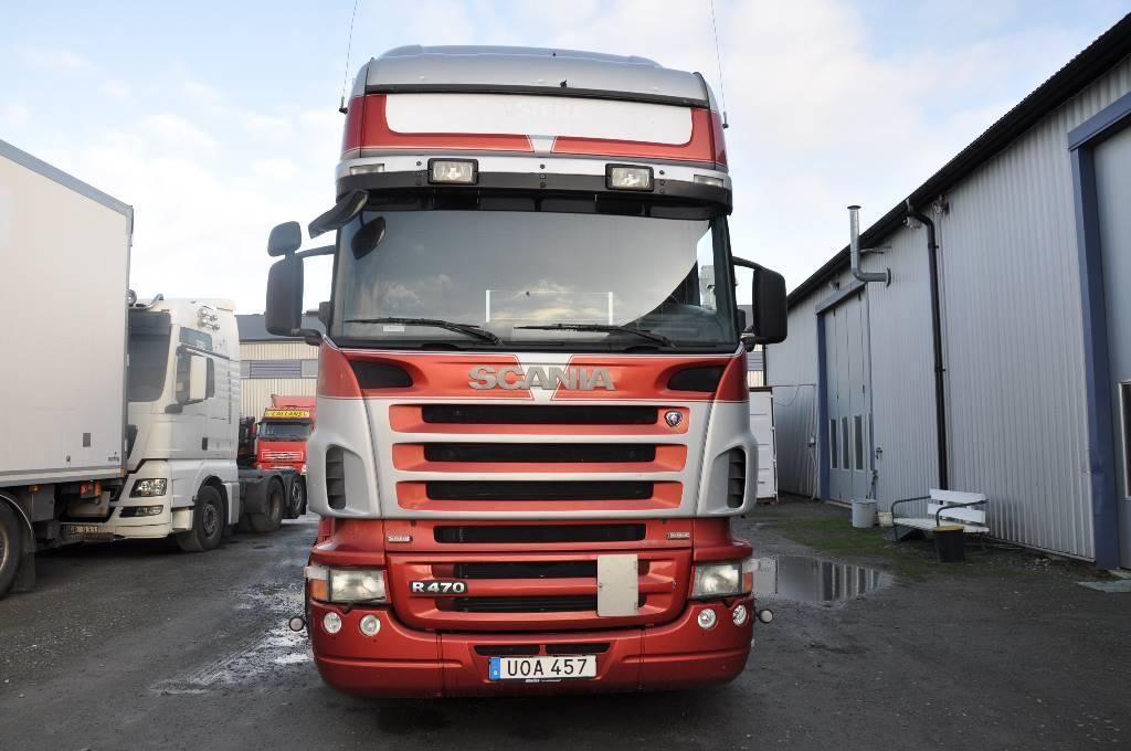Scania R470/420 utbytesmotor, Skåpbilar, Transportfordon