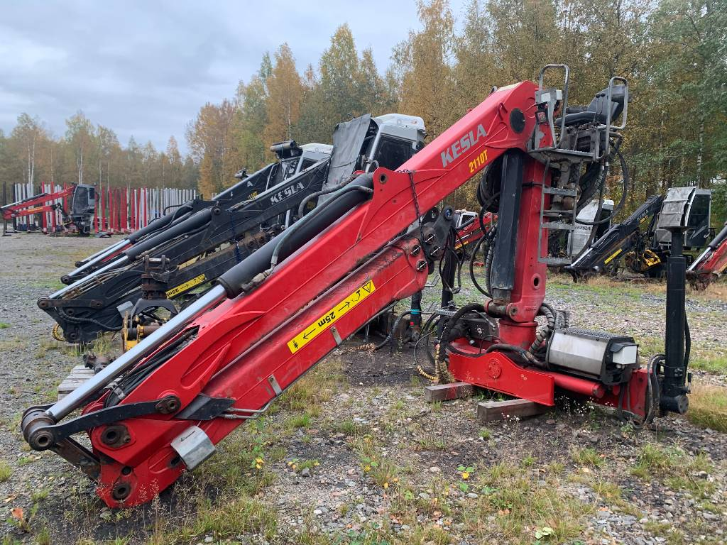 Kesla 2110T, Timber cranes, Transportation