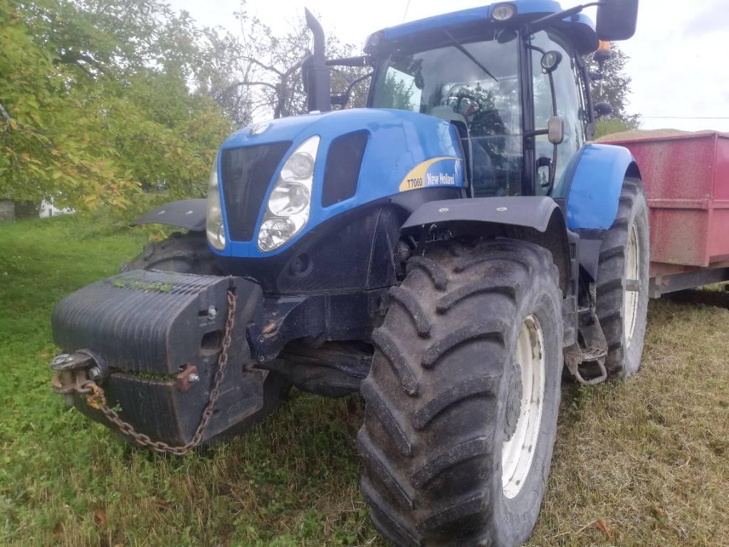 New Holland T 7060 PC, Traktorid, Põllumajandus