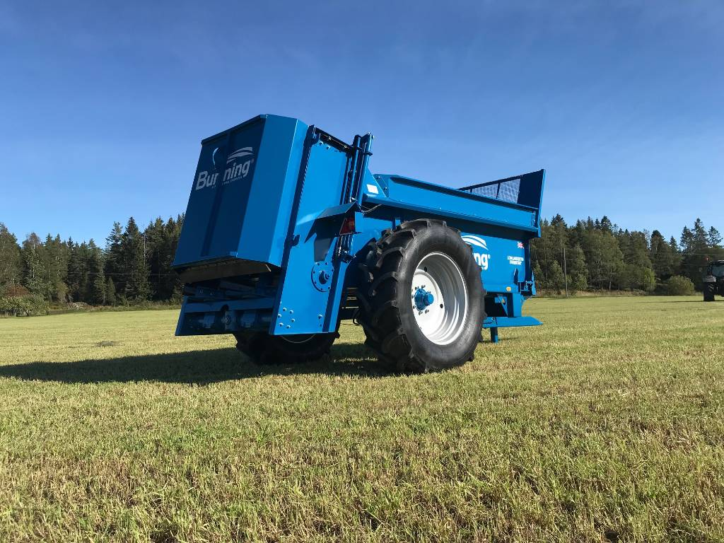 Bunning Gjødselvogn Farmstar 60 Gjødselspreder, Gjødselspreder, Landbruk