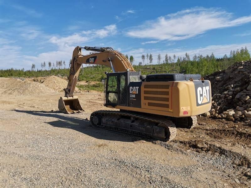 Caterpillar 336E, Crawler Excavators, Construction Equipment