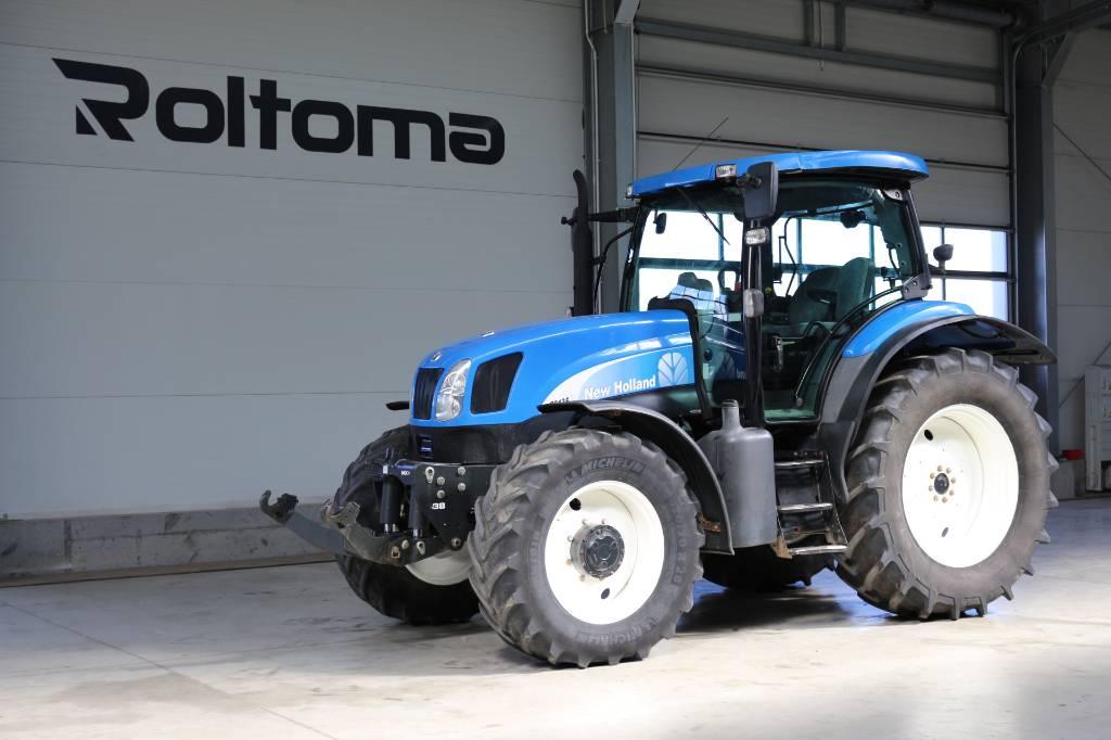 New Holland TS 135 A, Traktory, Maszyny rolnicze