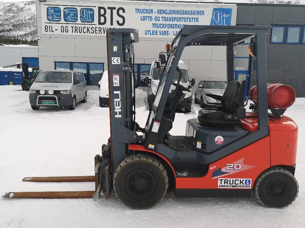 Heli CPYD20-RC1H - 2,0 t propan med rotator - 3,3 m LH, Propan trucker, Truck