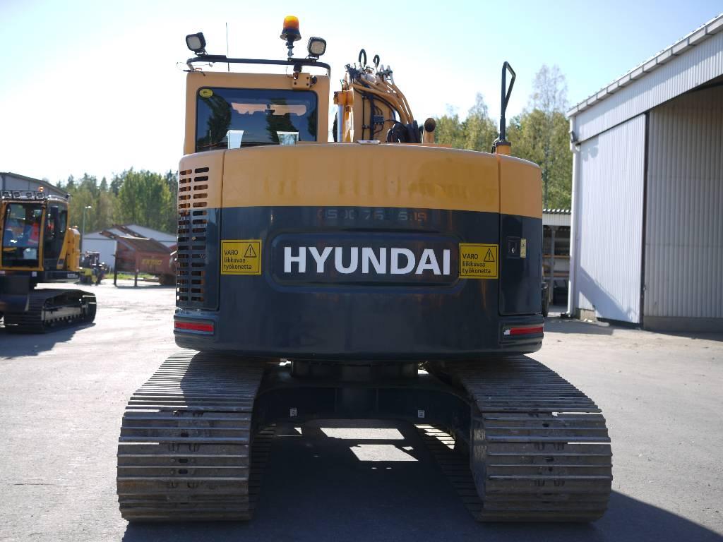 Hyundai R 145 LCRD-9A, Telakaivukoneet, Maarakennus