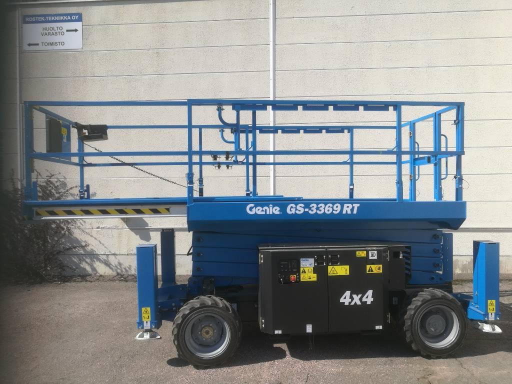 Genie GS 3369 RT, Saksilavat, Maarakennus