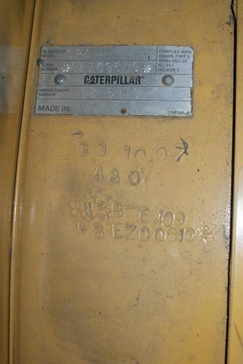 Caterpillar Generator End SR 4 - 400kW - DPH 103823, Generator Ends, Construction