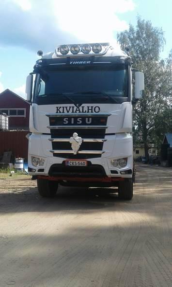 Sisu CK16M K-AKK-8X4 ASIAKKAAN LUKUUN, Timber trucks, Transportation