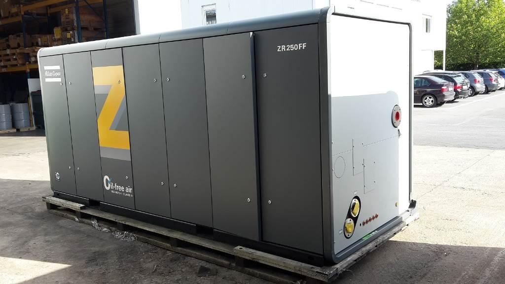 Atlas Copco ZR 250 FF, Compresores, Construcción