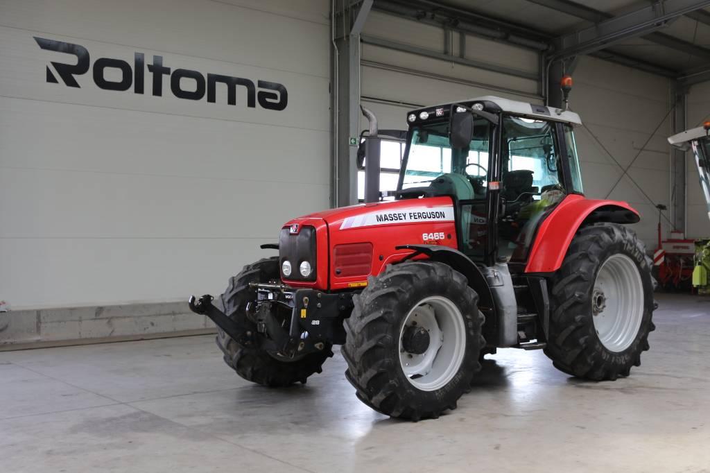 Massey Ferguson 6465 Dyna 6, Traktory, Maszyny rolnicze