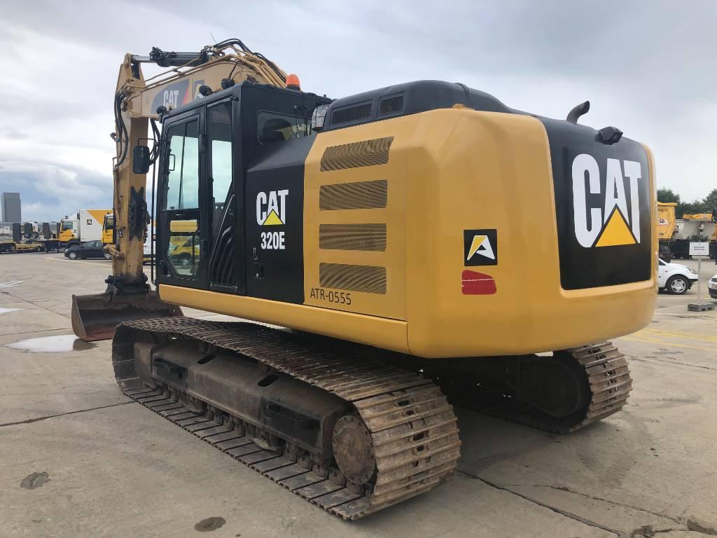 Caterpillar 320 EL, Crawler excavators, Construction