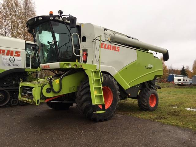 CLAAS 570 HYBRID, Combine harvesters, Agriculture