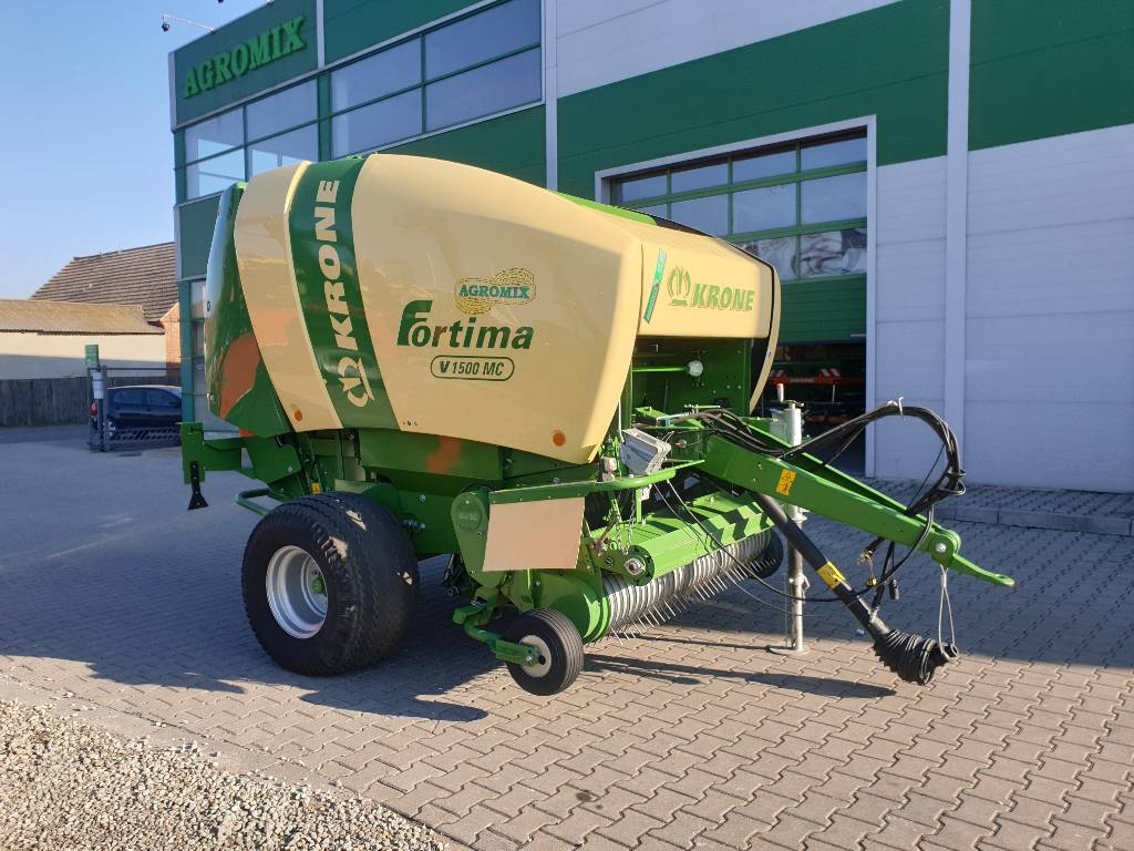 Krone Fortima V 1500 MC, Prasy zwijające, Maszyny rolnicze