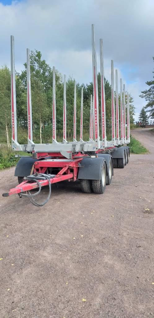 Jyki V52-T00, Puuperävaunut, Kuljetuskalusto
