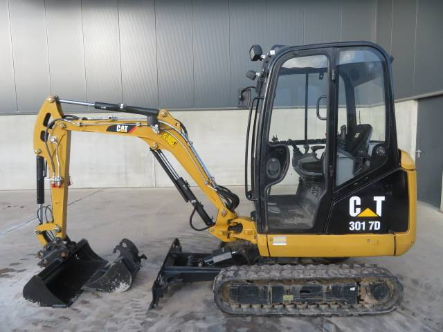 Caterpillar 301.7 D, Mini excavators < 7t (Mini diggers), Construction