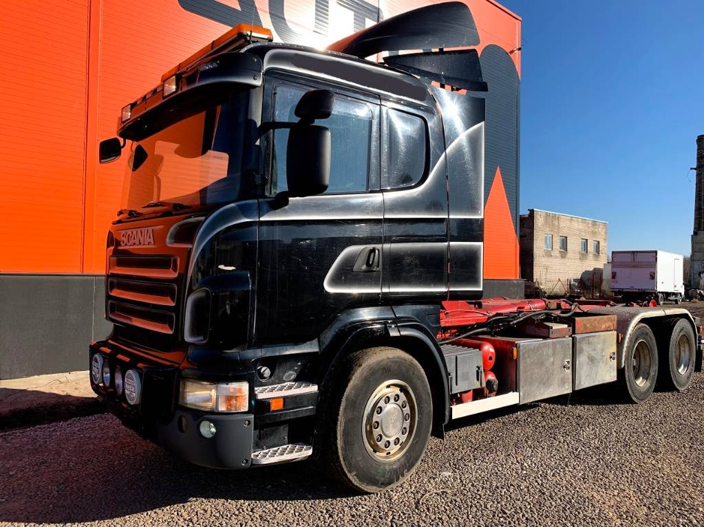 Scania R500 6x2 Hooklift 20T, Tow Trucks / Wreckers, Trucks and Trailers