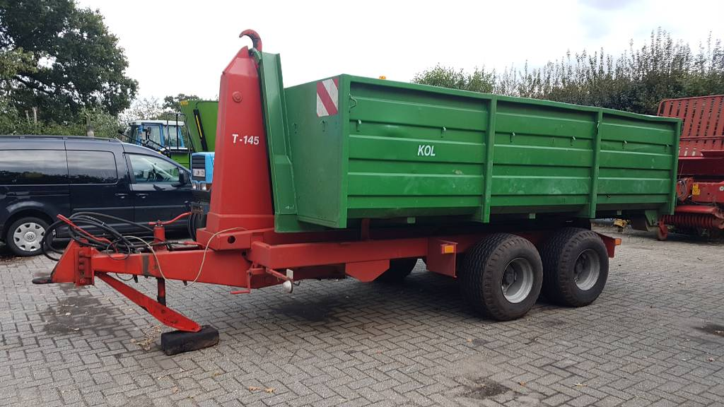 Agromet T 145, Containerchassis, Transport