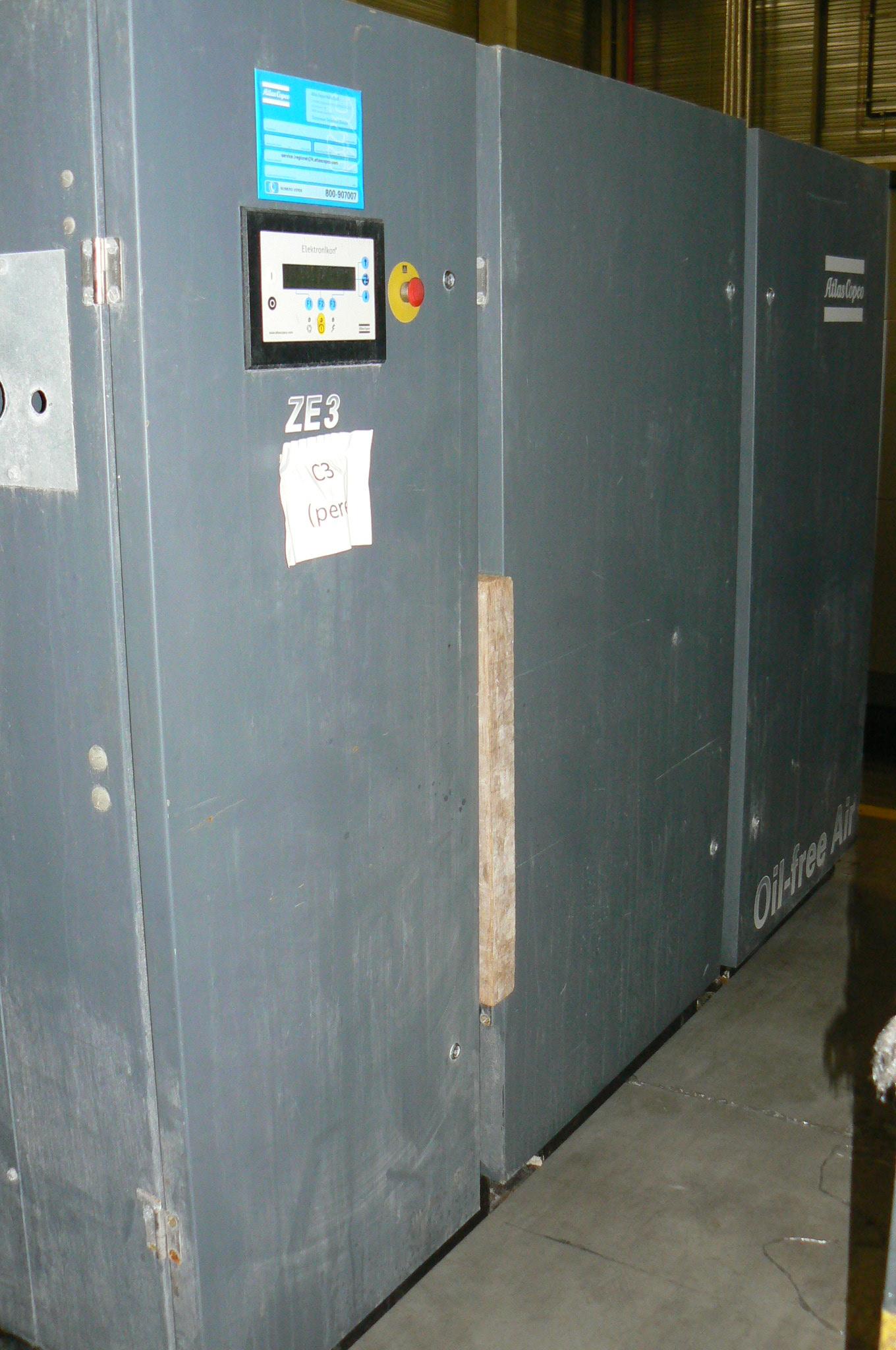 Atlas Copco ZE 3 I, Compressors, Industrial