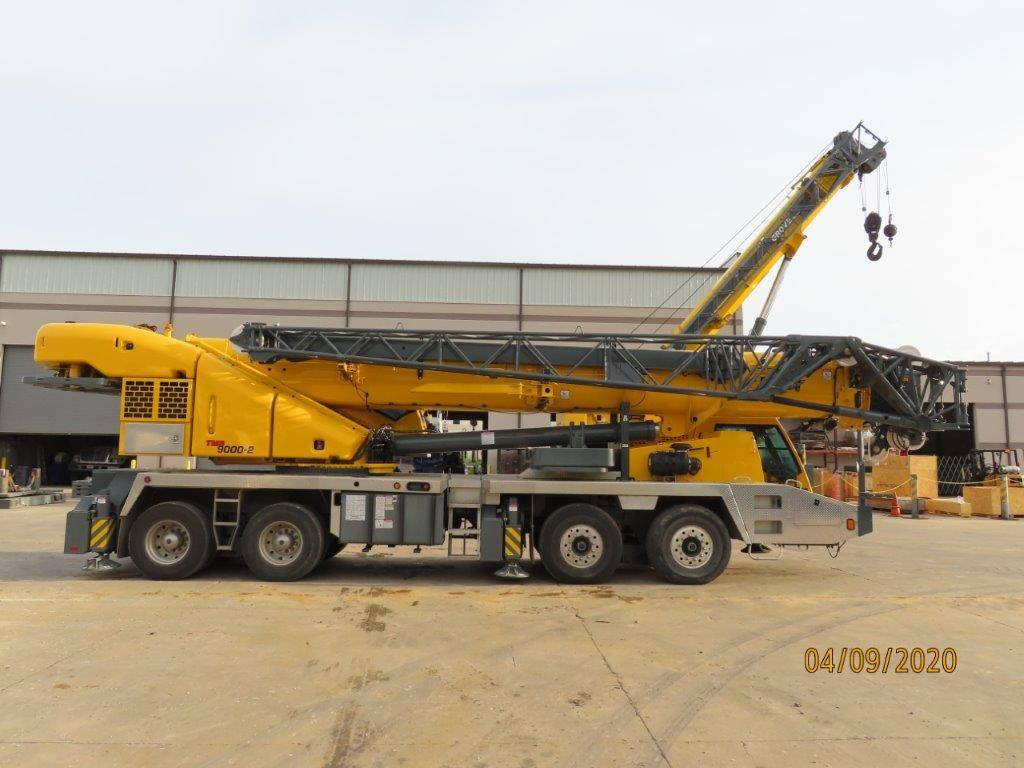 Grove TMS9000-2, Crane Parts and Equipment, Construction Equipment