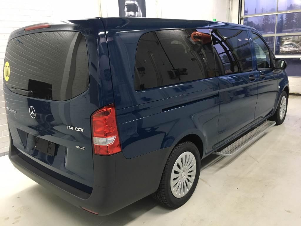 mercedes benz vito 114 cdi a 4x4 baujahr 2017 minibusse gebraucht kaufen und verkaufen bei. Black Bedroom Furniture Sets. Home Design Ideas