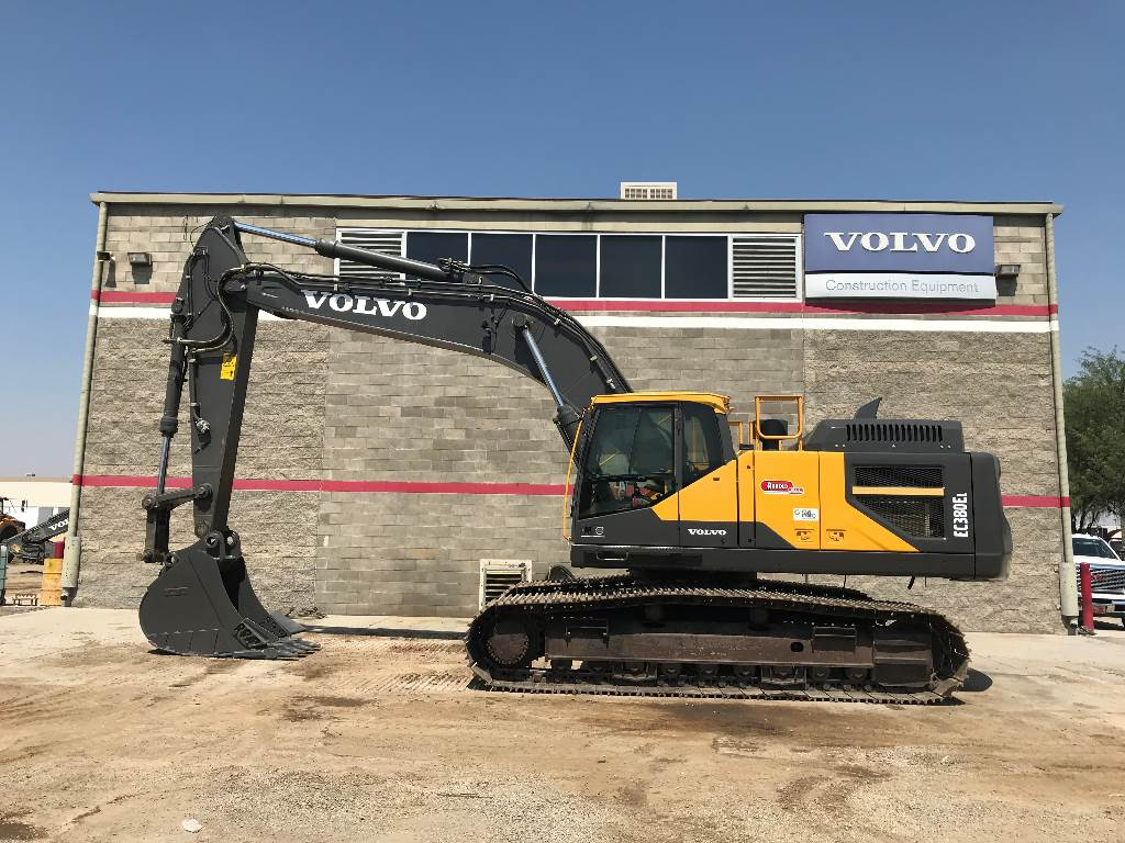 Volvo EC380EL, Crawler Excavators, Construction Equipment