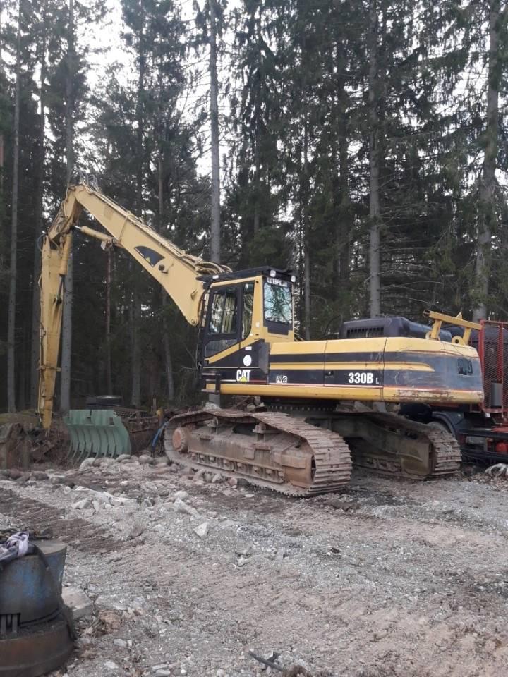 Caterpillar 330 B L, Rivningsgrävare, Entreprenad