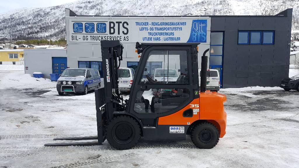 Doosan D35C-7 - 3,5 t diesel - 4,58 m LH, Diesel Trucker, Truck