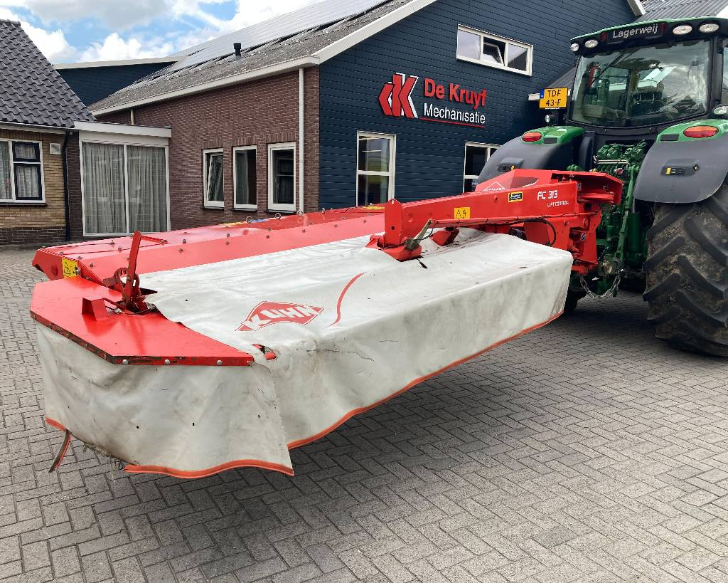 Kuhn FC313 lift control, Mowers, Agriculture