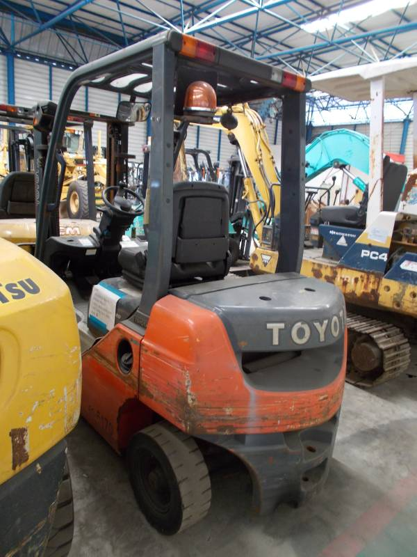 Used Toyota 52 8fd20 Diesel Forklifts Year 2012 Price 15 272 For Sale Mascus Usa
