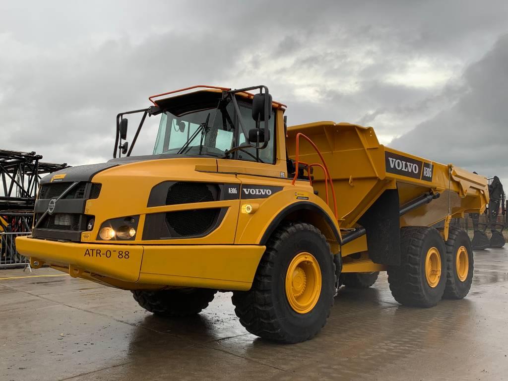 Volvo A 30 G, Articulated Dump Trucks (ADTs), Construction
