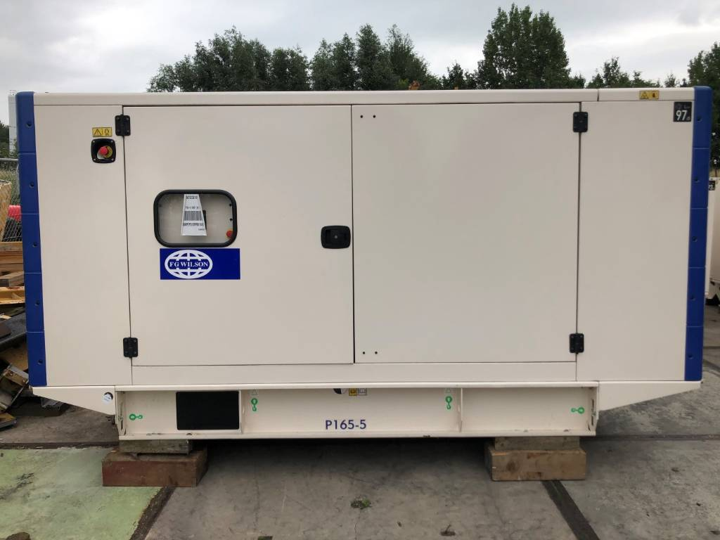 FG Wilson P 165-5 - Generator Set - 165 kVa, Diesel Generators, Construction