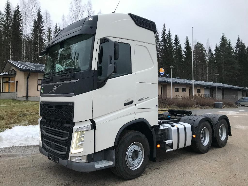 Volvo FH460 6x4 hydrauliikalla, Vetopöytäautot, Kuljetuskalusto