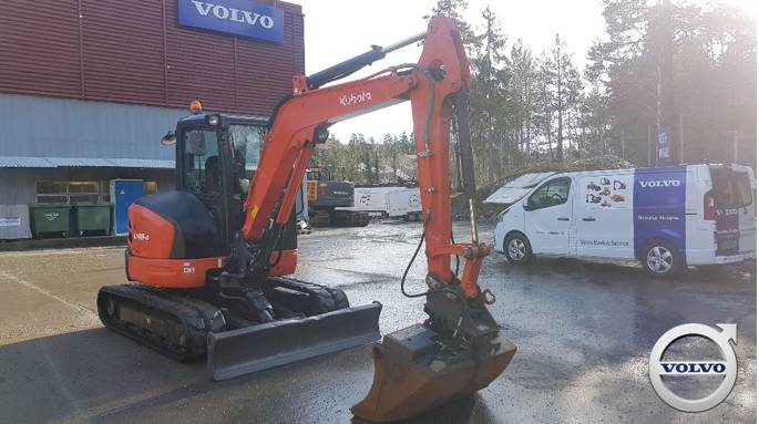 Kubota U 48-4, Mini Excavators <7t (Mini Diggers), Construction Equipment