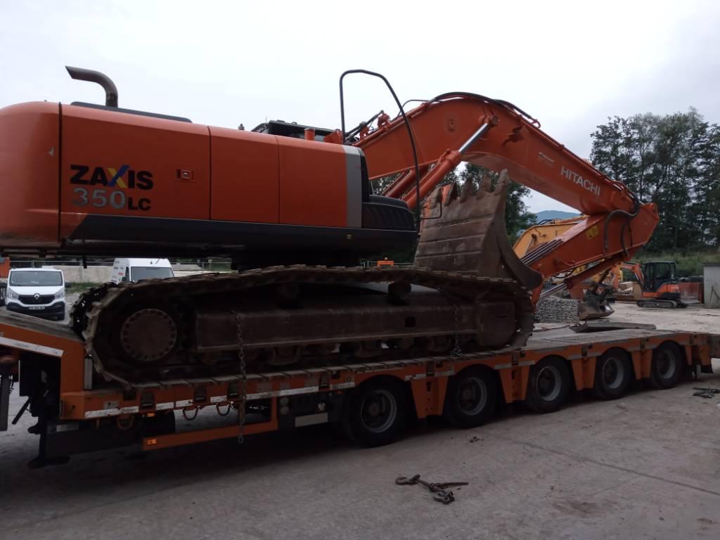 Hitachi ZX350LC, Crawler Excavators, Construction Equipment