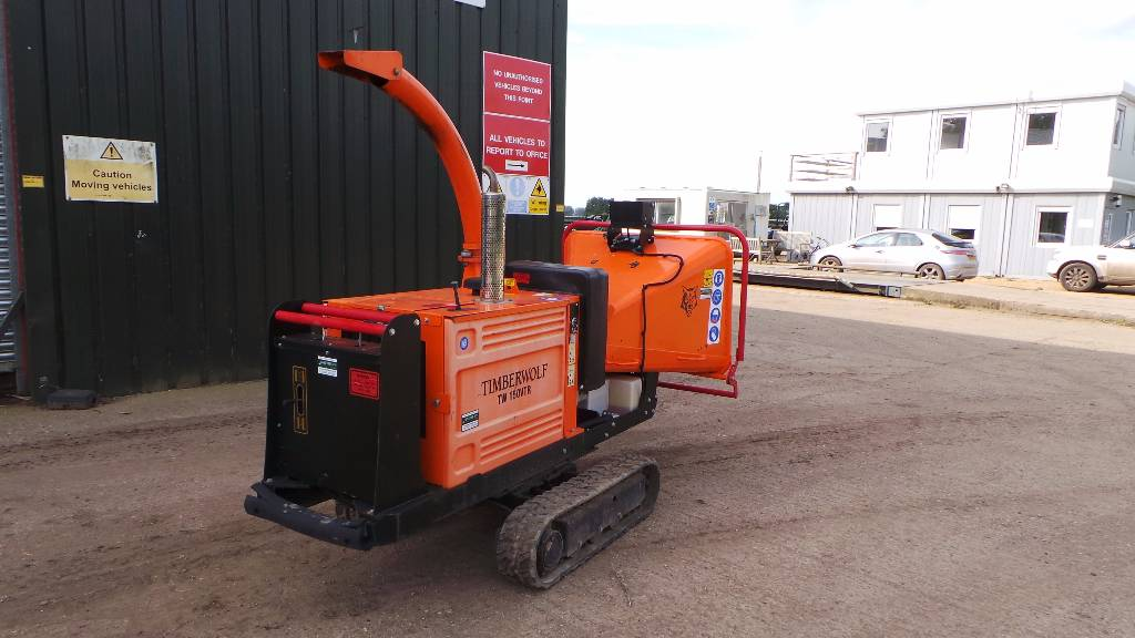 Timberwolf TW 150 VTR - Low hour tracked chipper, Other groundcare machines, Groundcare