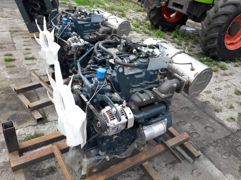 Kubota D1803-CR-EF04, Silniki, Maszyny budowlane