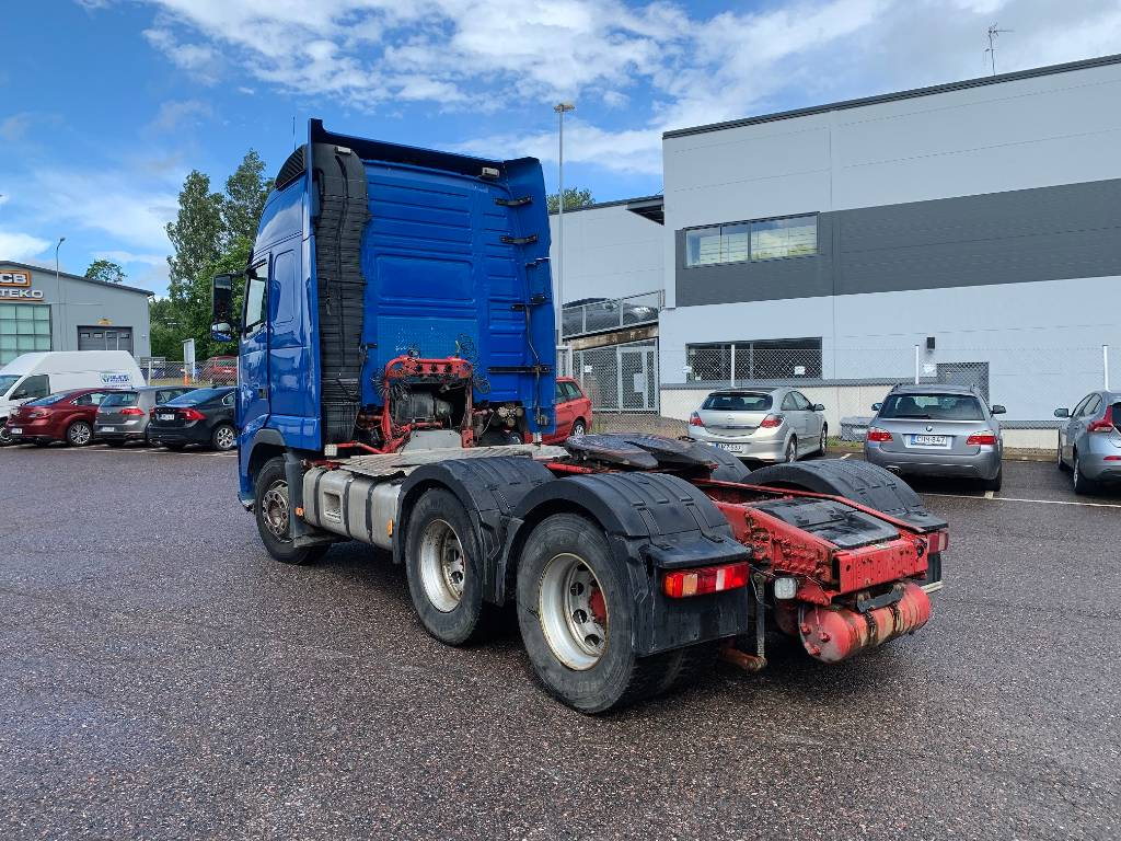 Volvo FH 540, Vetopöytäautot, Kuljetuskalusto