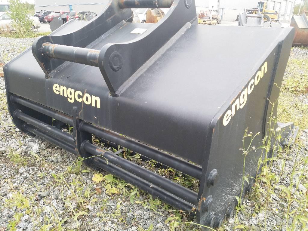 Engcon SB20-1100-1700-S70, Screening buckets, Construction Equipment