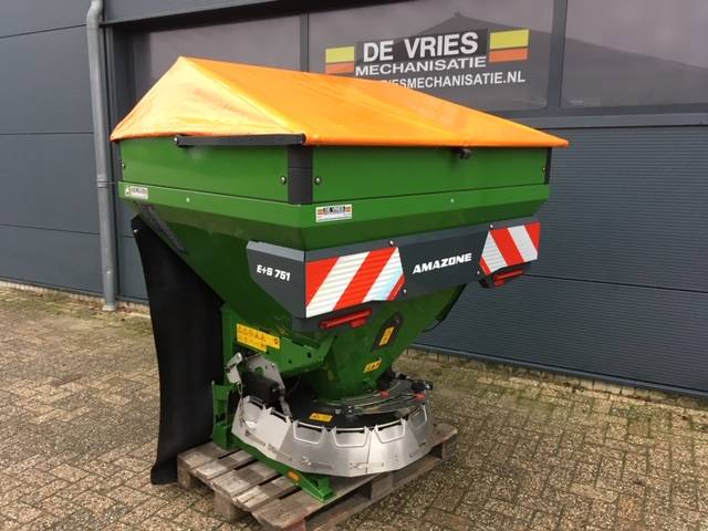 Amazone E+S 751, Sand And Salt Spreaders, Agriculture