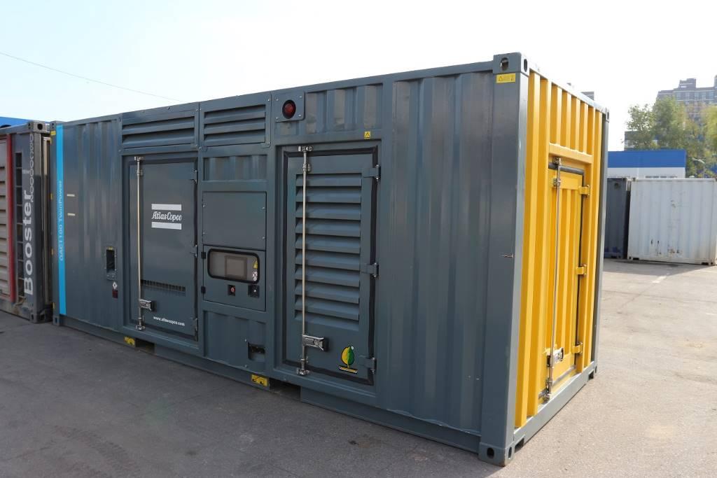 Atlas Copco QAC 1100 Twin Power, Diesel Generators, Construction