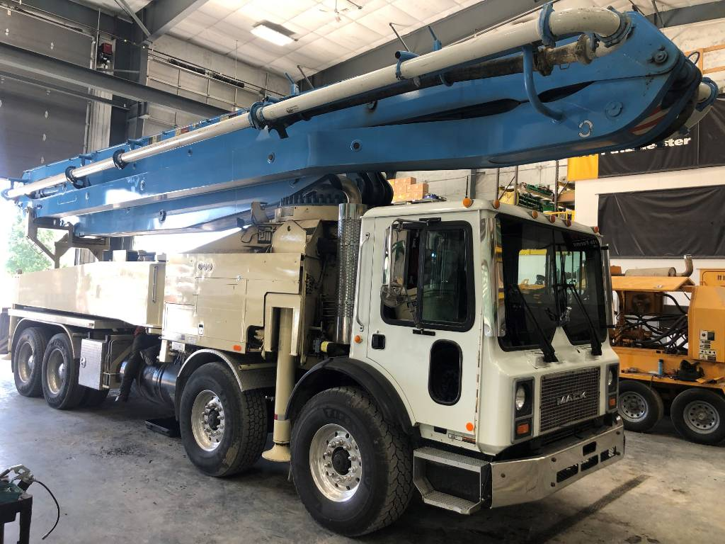 Putzmeister BSF 46M, Boom Pumps, Construction Equipment