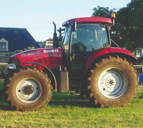 Case IH Maxxum 125, Tractoren, Landbouw