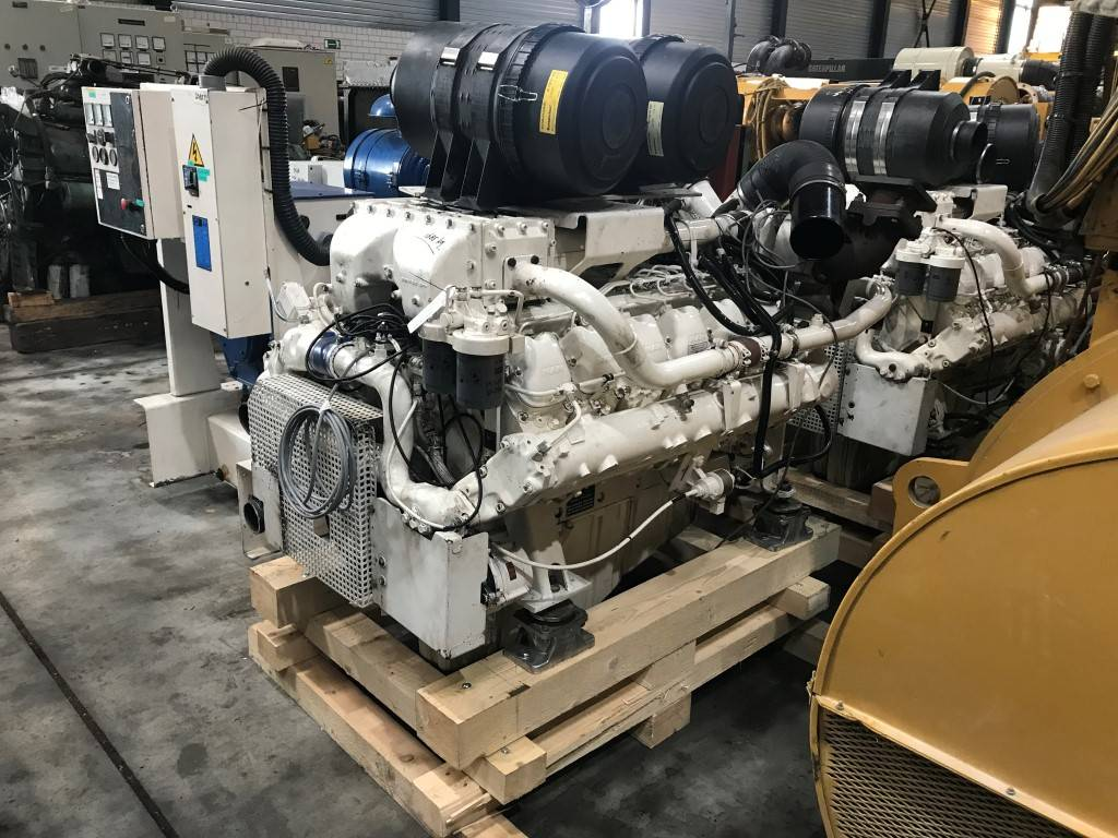 MAN D 2842 LE - Marine Propulsion 441 kW - DPH 105386, Marine Applications, Construction